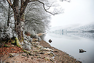 Winter frost blankets the Scottish Highlands and Lochs.