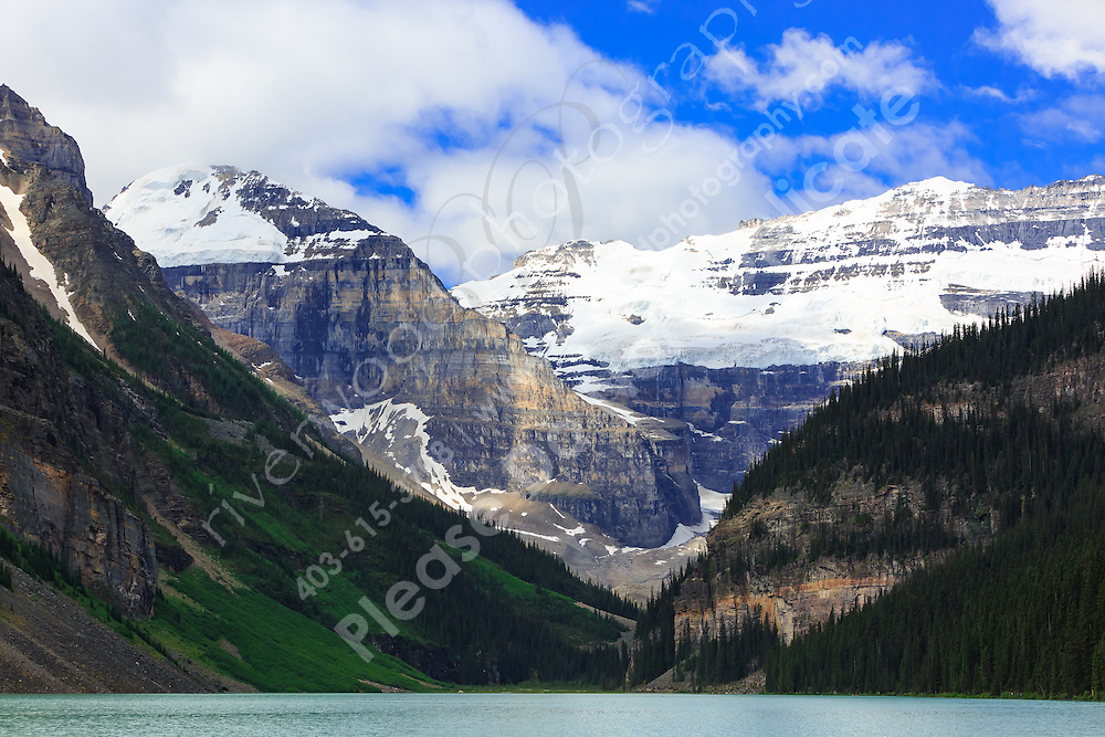 Hiking from Chateau Lake Louise to the Plain of Six Glaciers<br /> <br /> &copy;2015, Sean Phillips<br /> http://www.RiverwoodPhotography.com