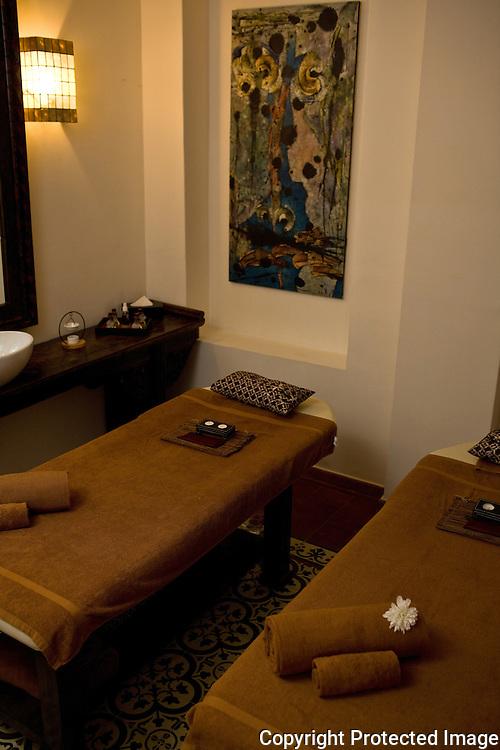 the spa at the Penaga Hotel