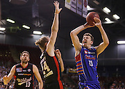 18/11/2015 NBL Adelaide 36ers vs Perth Wildcats at the Titanium Security Arena