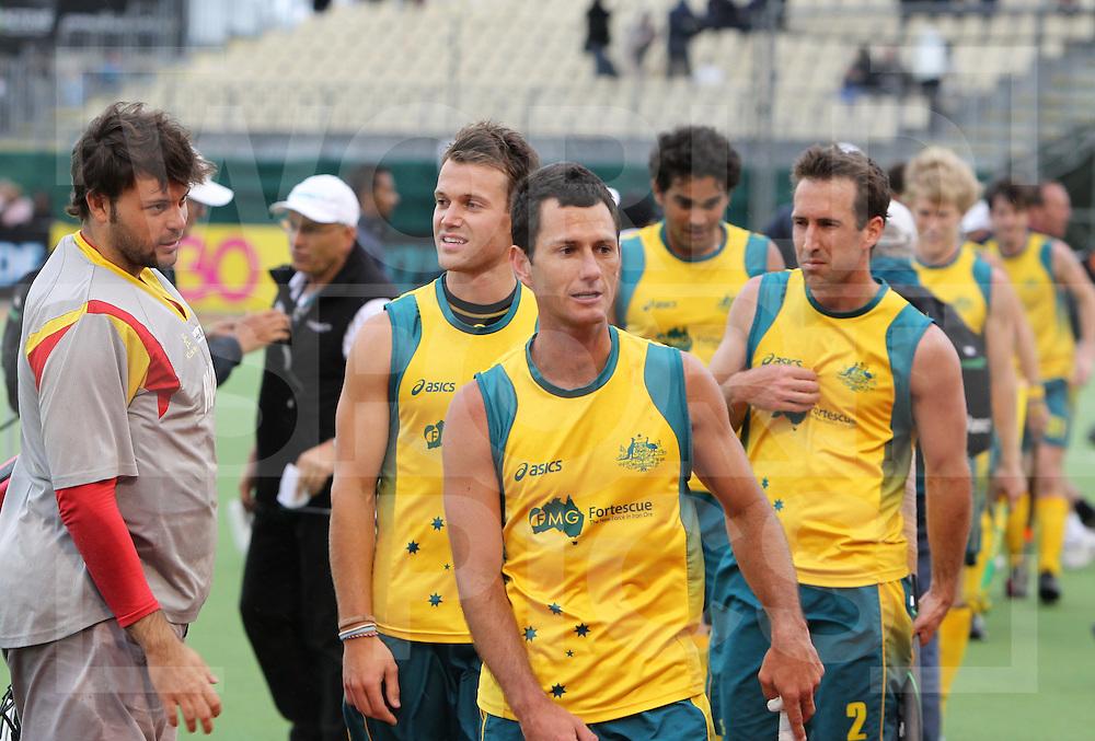 Champions Trophy,Auckland, New Zealand 2011.11/12/2011 Day 6, Final Australia v Spain ..Jamie Dwyer