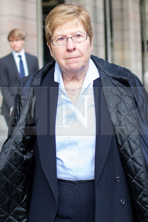 © Licensed to London News Pictures. 15/10/2019. London, UK. Former Chair of the Audit Committee at Thomas Cook Martine Verluyten departs Portcullis House after appearing in front of a select committee .  Photo credit: George Cracknell Wright/LNP