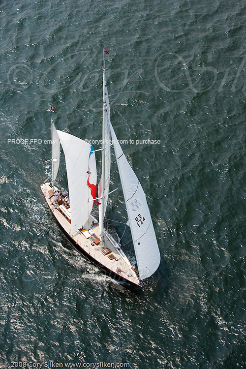 Bolero racing at the New York Yacht Club Race Week.