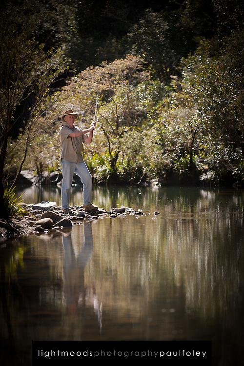 Fly Fishing, Barrington Tops, NSW, Australia
