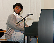 """Jerron """"Blind Boy"""" Paxton at the Black Banjo , Blues & Jazz Event in Boone NC"""