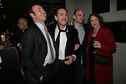 Kevin Spacey, Robert Lindsay, Sean Holmes and Pam Ferris, The Entertainer - press night at the Old Vic afterparty at The Baltic,  Blackfriars Road, London, SE1.  50th anniversary production of John Osborne play. 7 March 2007. -DO NOT ARCHIVE-© Copyright Photograph by Dafydd Jones. 248 Clapham Rd. London SW9 0PZ. Tel 0207 820 0771. www.dafjones.com.