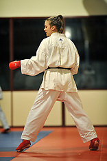 20120212 NED: Training Karateka Lydia Mossel, Leusden