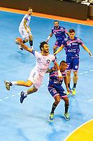Remi Calvel - 01.04.2015 - Toulouse / Cesson Rennes - 19eme journee de Division 1<br />Photo : Manuel Blondeau / Icon Sport
