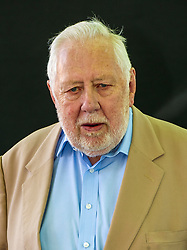 Pictured: Political Living Legend Roy Hattersley<br /> Book fanatics headed to Charlotte Square in Edinburgh which is the hub of the international Book Festival to meet the authors and also to meet up with fellow fans of the printed word.<br /> <br /> <br /> Ger Harley | EEm 14 August 2017