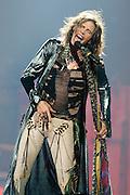 Steven Tyler of Aerosmith performs at the New Orleans Arena on Thursday, December 6, 2012, in New Orleans. (Erika Goldring Photo)