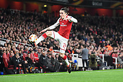 Arsenal Defender Hector Bellerin (24) in action during the Europa League match between Arsenal and AC Milan at the Emirates Stadium, London, England on 15 March 2018. Picture by Stephen Wright.