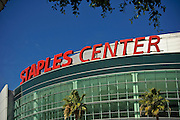 Los Angeles CA, Staples Center