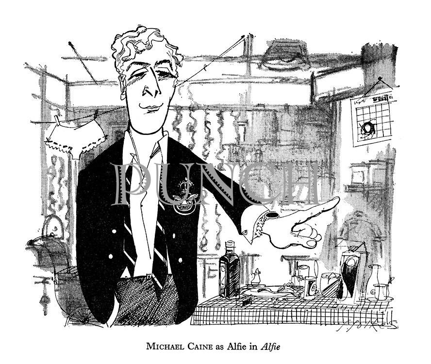Michael Caine as Alfie in Alfie