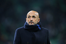 February 3, 2019 - Milan, Milan, Italy - head coach of FC Internazionale Milano Luciano Spalletti before the serie A match between FC Internazionale and Bologna FC at Stadio Giuseppe Meazza on February 3, 2019 in Milan, Italy. (Credit Image: © Giuseppe Cottini/NurPhoto via ZUMA Press)