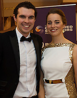 repro free: John Haverty AECOM and Marie McMullin Menlo Galway at the SCSI, Society of Chartered Surveyors of Ireland West branch Annual Dinner 2017 at the Ardilaun Hotel, Galway. Photo:Andrew Downes.
