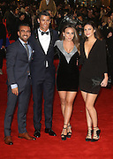 November 9, 2015 - Cristiano Ronaldo with Chloe Green and guests  attending The World Premiere of 'Ronaldo' at Vue West End, Leicester Square in London, UK.<br /> ©Exclusivepix Media