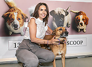 2019, June 12. UPI, Amsterdam, the Netherlands. Rosanna Kluivert and Yuki at the dutch premiere of A Dog's Journey.