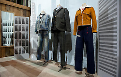 Picture shows Levis Vintage Clothing stand in The Lock at Bread and Butter Berlin, January 16-19th 2014.<br /> <br /> Credit should read: Picture by Mark Larner