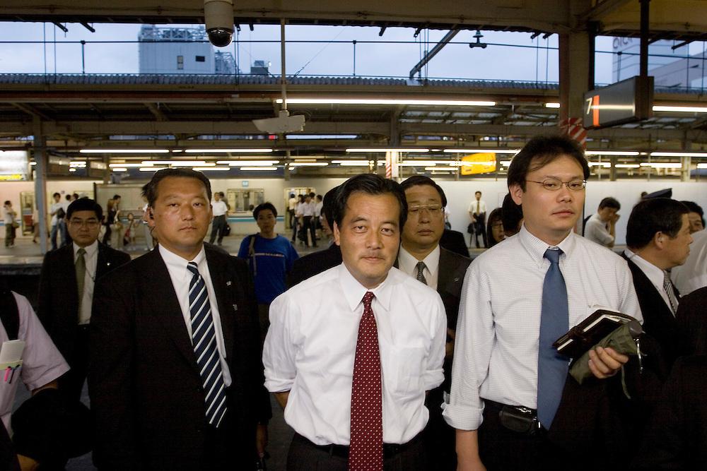 Katsuya Okada President of the Democratic Party of Japan..Member of the House of Representatives (5 terms)