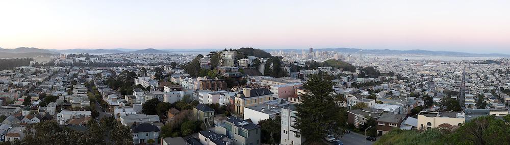 San Francisco Cityscape. (19893 x 5655 pixels)