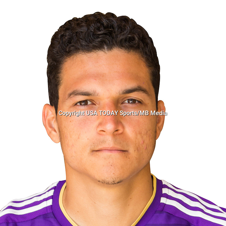 Feb 25, 2016; USA; Orlando City SC midfielder Tony Rocha poses for a photo. Mandatory Credit: USA TODAY Sports