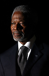 Kofi Annan, Secretary General of the United Nations. (Photo © Jock Fistick)