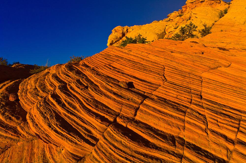 Rock formations, Water Holes Canyon, Navajo Nation, near Page, Arizona USA