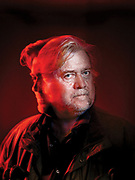 Stephen K. Bannon hours before attending a rally in Alabama for Roy Moore, a senate candidate who lost to Doug Jones in a special election.