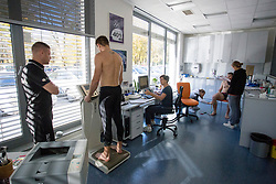 Marko Bezjak on psychophysical tests at Faculty of Sports before tomorrow's handball match between the national teams of Slovenia and Croatia, on October 17, 2017 in Faculty of Sports, Ljubljana, Slovenia. Photo by Urban Urbanc / Sportida