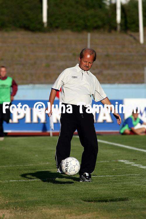29.06.2006, Urheilukeskus, Lahti, Finland..Veikkausliiga 2006 - Finnish League 2006.FC Lahti - FF Jaro.Valmentaja Antti Muurinen - FC Lahti.©Juha Tamminen....ARK:k