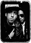 B.A.D. Big Audio Dynamite. Mick Jones and Don Letts, London, UK, 1990s.