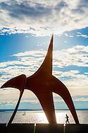 """Olympic Sculpture Park - """"Eagle"""" by Alexander Calder"""