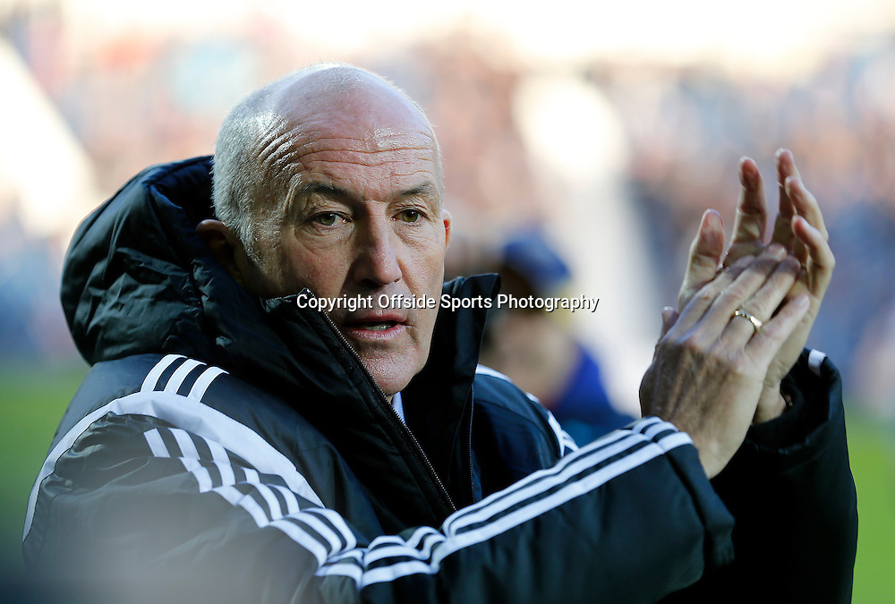 3rd January 2015 - FA Cup 3rd Round - West Bromwich Albion v Gateshead - New West Bromwich Albion head coach Tony Pulis - Photo: Paul Roberts / Offside.