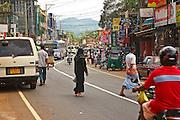 street scene Kuruwita Sri Lanka