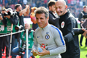 Chelsea assistant manager gianfranco zola before the Premier League match between Southampton and Chelsea at the St Mary's Stadium, Southampton, England on 7 October 2018.
