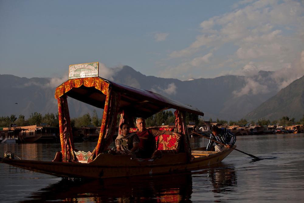Tourism at the Dal lake, September 2011, Kashmir, India. Photographer: Prashanth Vishwanathan