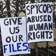 25 Mar 2019 - Spy cops victims demand access to their own files at the Undercover Policing Inquiry.