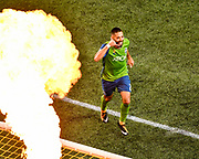 Nicolas Lodeiro had a goal and two assists and La Liga veteran Victor Rodriguez scored his first MLS goal to help the Seattle Sounders beat the Western Conference-leading Vancouver Whitecaps 3-0.<br /> <br /> Photo: Alika Jenner/KLC