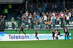 Aleksandar Boskovic of NS Mura celebrates during football match between NS Mura and NK Maribor in 10th Round of Prva liga Telekom Slovenije 2018/19, on September 30, 2018 in Mestni stadion Fazanerija, Murska Sobota, Slovenia. Photo by Mario Horvat / Sportida