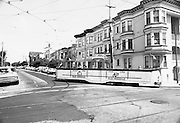 Blackpool Boat Car 228 Turning Corner of 17th and Noe Streets | Spetember 3, 1986