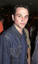 Actor MATHEW RHYS at a party in London on <br /> 14th June 2000.OFF 108<br /> © Desmond O'Neill Features:- 020 8971 9600<br />    10 Victoria Mews, London.  SW18 3PY <br /> www.donfeatures.com   photos@donfeatures.com<br /> MINIMUM REPRODUCTION FEE AS AGREED.<br /> PHOTOGRAPH BY DOMINIC O'NEILL