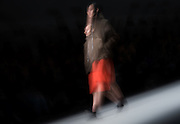 UNITED KINGDOM, London:  2015, Models walk the London Fashion week cat walk in London, England. Andrew Cowie / Story Picture Agency