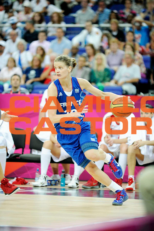 DESCRIZIONE : Basketball Jeux Olympiques Londres Demi finale<br /> GIOCATORE : Lepron Florence<br /> SQUADRA : France  FEMME<br /> EVENTO : Jeux Olympiques<br /> GARA : France Russie<br /> DATA : 09 08 2012<br /> CATEGORIA : Basketball Jeux Olympiques<br /> SPORT : Basketball<br /> AUTORE : JF Molliere <br /> Galleria : France JEUX OLYMPIQUES 2012 Action<br /> Fotonotizia : Jeux Olympiques Londres demi Finale Greenwich Northwest Arena<br /> Predefinita :