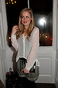 HOLLIE KIERNAN, Book launch for Isabella Blow- A Life in Fashion. Book by Lauren Goldstein Crowe. Henrietta St. London. 23 February 2011. -DO NOT ARCHIVE-© Copyright Photograph by Dafydd Jones. 248 Clapham Rd. London SW9 0PZ. Tel 0207 820 0771. www.dafjones.com.