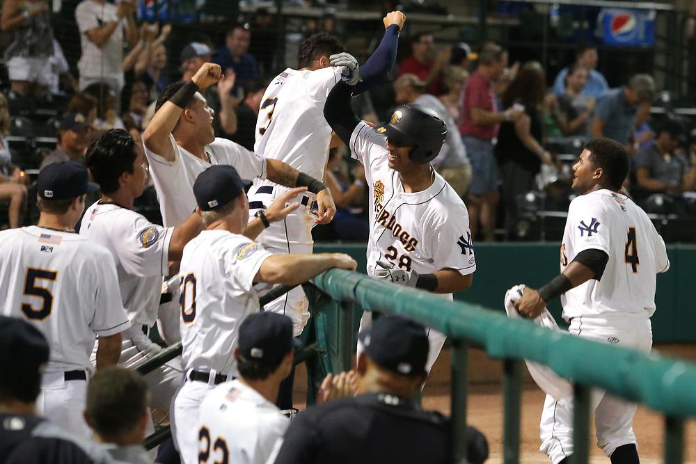 Rome Braves vs. Charleston RiverDogs at Joseph P. Riley Ballpark in Charleston, S.C. on Thursday, June 28, 2018.<br /> Zach Bland/Charleston RiverDogs