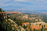 Farview Point, Bryce Canyon National Park,elevation 8819,Utah.