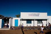 Ouvidor_GO, Brasil...Escola Municipal Ana Ramos dos Santos em Ouvidor...Municipal School Ana Ramos dos Santos in Ouvidor...Foto: MARCUS DESIMONI /  NITRO.