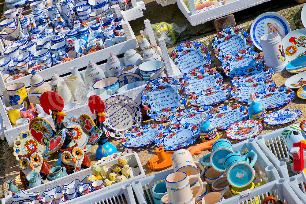 Alberto Carrera, Typical Souvenirs Shops, Nazaré, Portugal, Europe