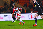 Herbie Kane of Doncaster Rovers (15) in action during the EFL Sky Bet League 1 match between Doncaster Rovers and Barnsley at the Keepmoat Stadium, Doncaster, England on 15 March 2019.