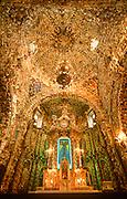 MEXICO, COLONIAL, PUEBLA Santa Maria Tonantzintla Church